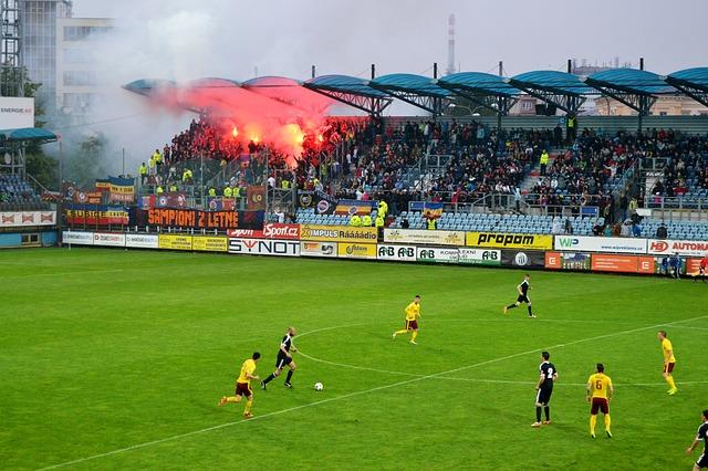 pyrotechnika a fotbal