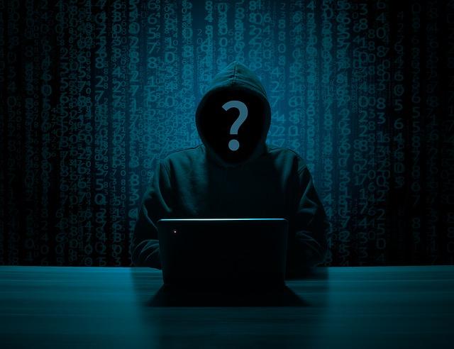 silueta hackera
