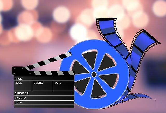 filmový pás a klapka