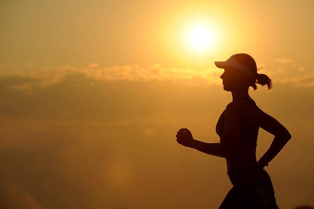 běh při setmění