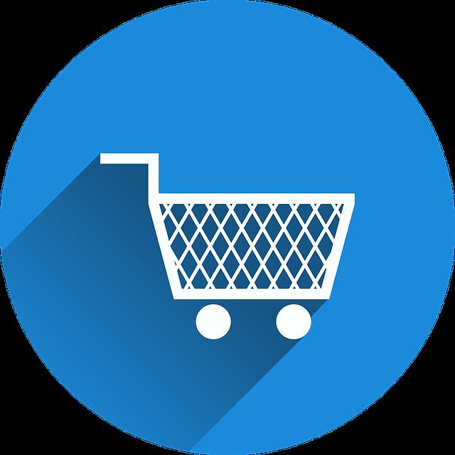 nakupování ikona