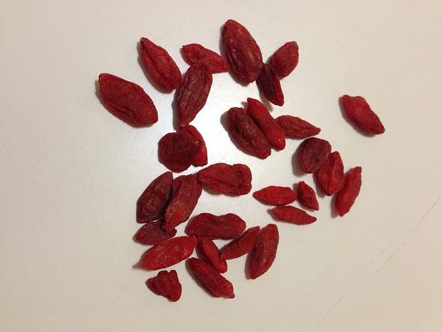 sušené goji semínka
